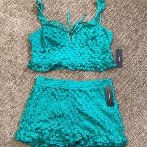 Shorts and tank top set